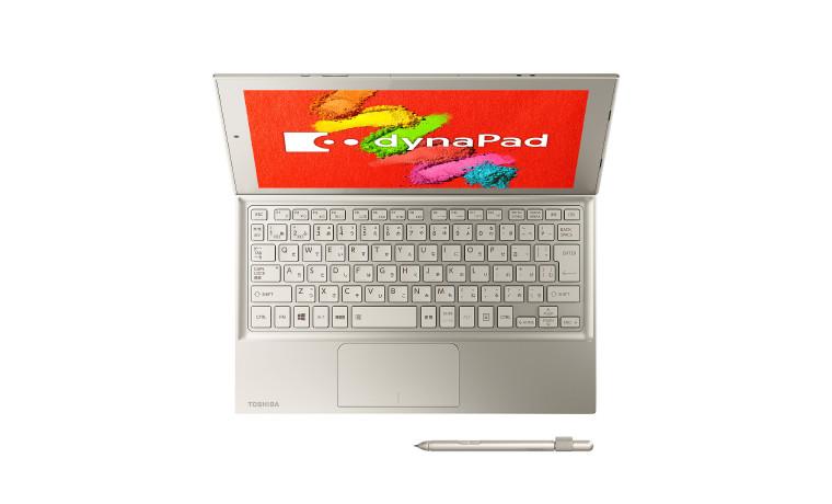 Dyna Pad N72: Toshiba hat das dünnste und leichteste Detachable mit Stift - Dyna Pad N72 (Bild: Toshiba)