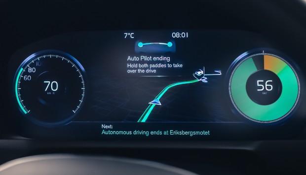 Intellisafe Auto Pilot (Bild: Volvo)