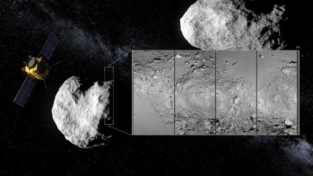 Aim sollen den Asteroiden erforschen. (Bild: Esa-ScienceOffice.org)