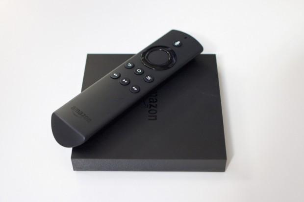 Fire TV der zweiten Generation mit WLAN-Fernbedienung (Bild: Michael Wieczorek/Golem.de)