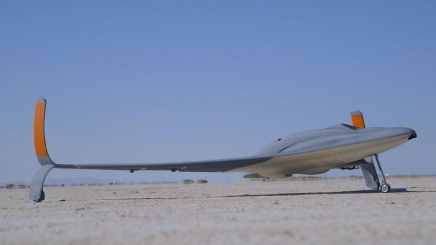 Die Drohne mit Strahltriebwerk (Foto: Stratasys)
