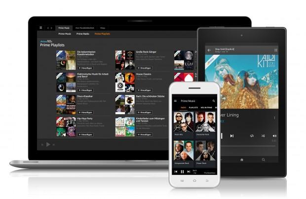 Amazons neuer Musik-Streaming-Dienst Prime Music (Bild: Amazon)