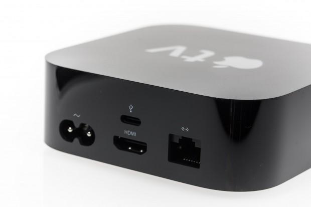 Die Rückseite des Apple TV (Bild: Martin Wolf/Golem.de)