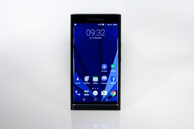 Das Priv ist Blackberrys erstes Android-Smartphone. (Bild: Tobias Költzsch/Golem.de)