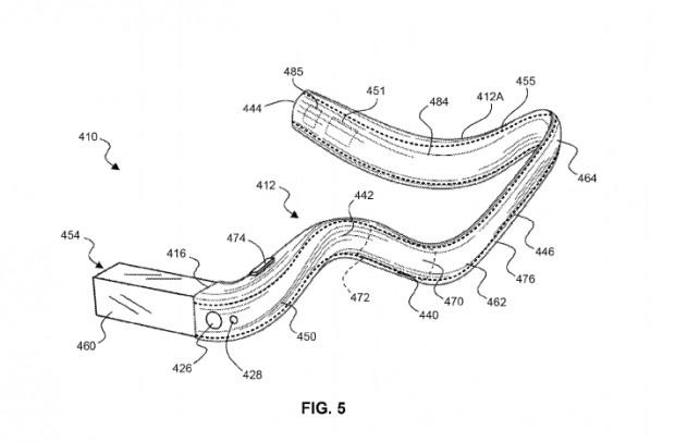 Das Wearable aus der Patentschrift (Bild: USPTO/Google)