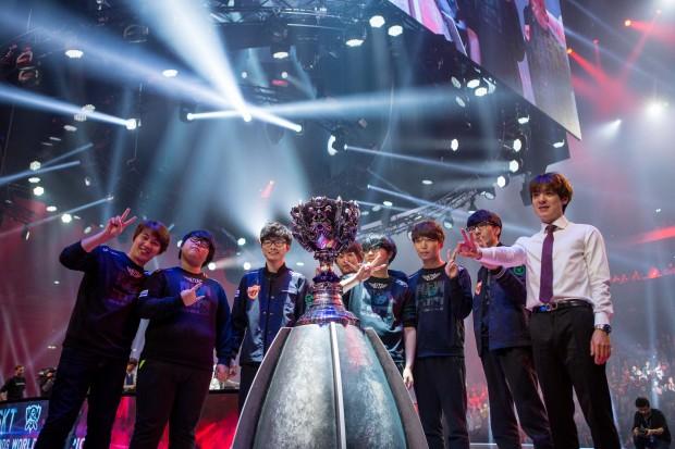 Gewonnen hat das Team SK Telecom. (Bild: Riot Games)