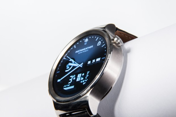 """Huaweis erste Smartwatch heißt schlicht """"Watch"""". (Bild: Martin Wolf/Golem.de)"""