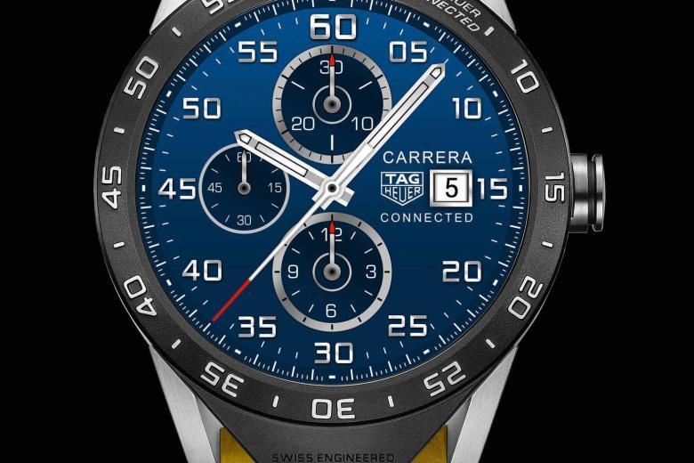 Connected Watch: TAG Heuer bringt Luxus-Smartwatch als Apple-Watch-Konkurrenz - TAG Heuer Connected Watch  (Bild: TAG Heuer)