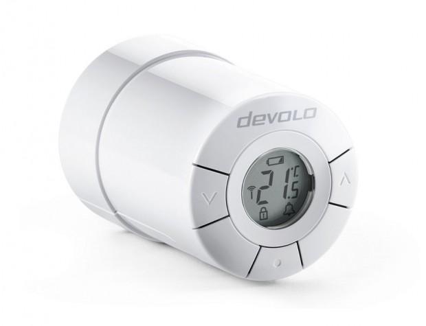 Das Heizungsthermostat von Devolo ist ursprünglich ein Danfoss-Produkt. (Bild: Devolo)