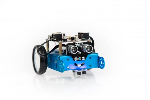 Mit einem Lächeln versucht der Roboter zu begeistern. (Foto: Martin Wolf/Golem.de)