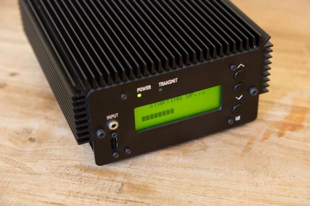 Pocket FM beim Bootvorgang (Bild: Martin Wolf/Golem.de)