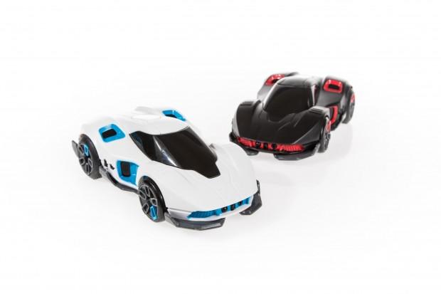 Die beiden Autos stecken im REV-Set (Foto: Martin Wolf/Golem.de)
