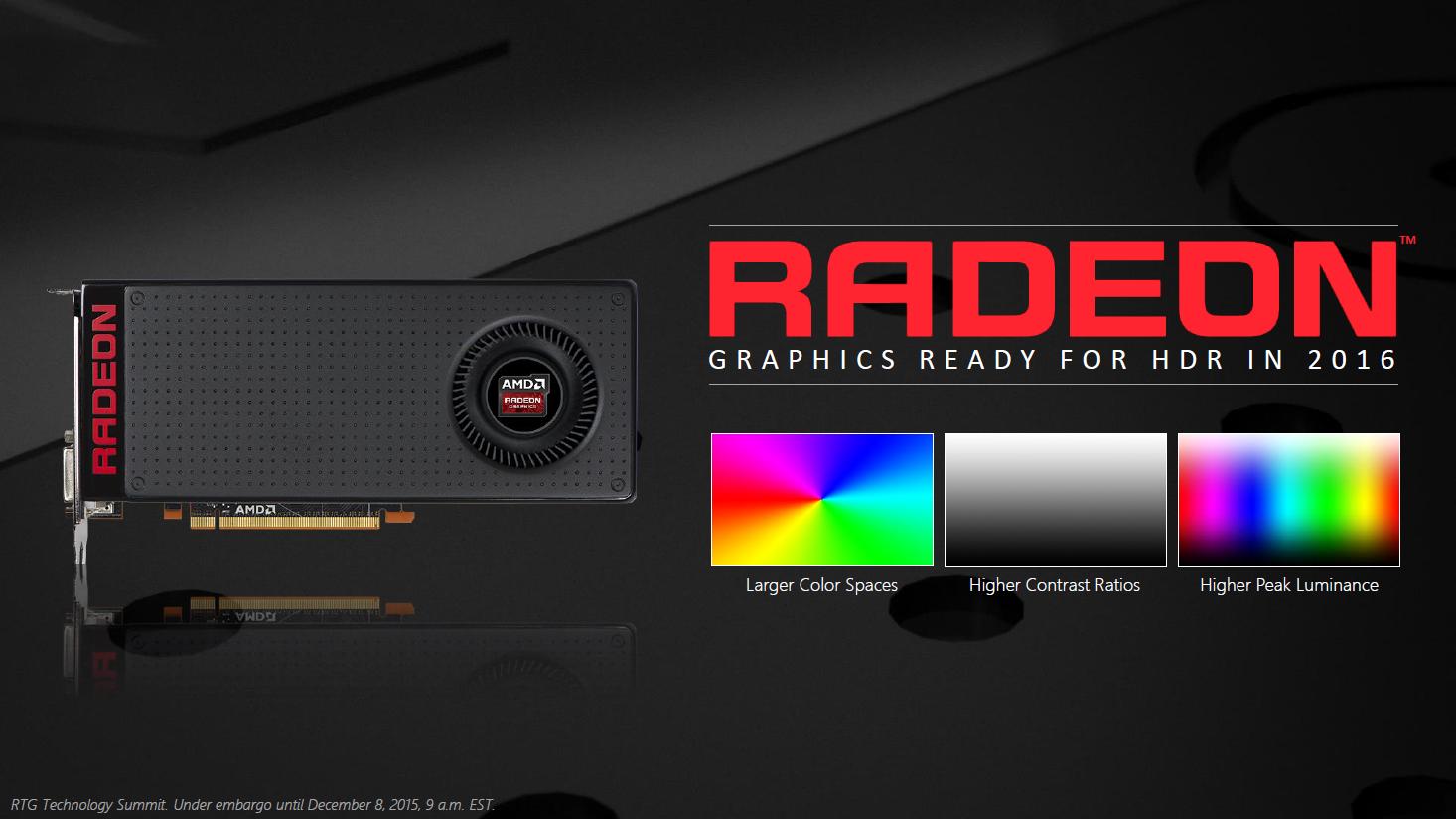 Display: AMD bringt HDMI- und Notebook-Freesync und HDR-Grafikkarten -