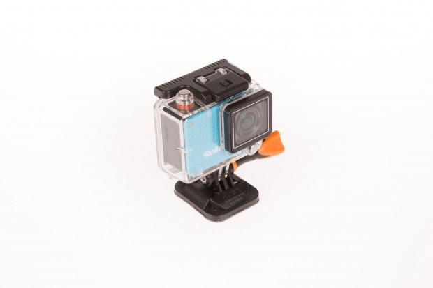 Die Rollei Actioncam 420 ist mit Gehäuse bis zu 40 Metern wasserdicht. (Bild: Martin Wolf/Golem.de)