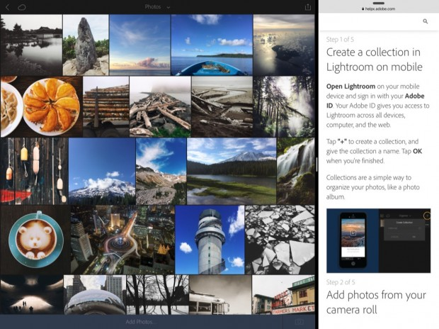 Adobe Lightroom für iOS (Bild: Adobe)