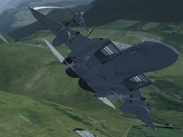 Die Flugzeuge werden überarbeitet. (Screenshot: Flightgear.org)