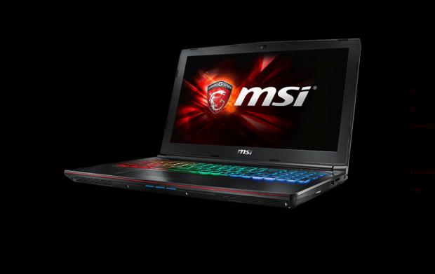 GE62-6QE mit Geforce GTX 965M v2 (Bild: MSI)