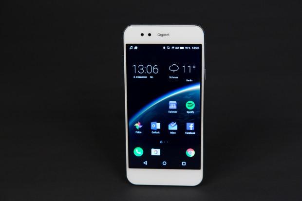 Das Gigaset ME ist eines der ersten drei Smartphones des Herstellers mit Sitz in Düsseldorf. (Bild: Martin Wolf/Golem.de)