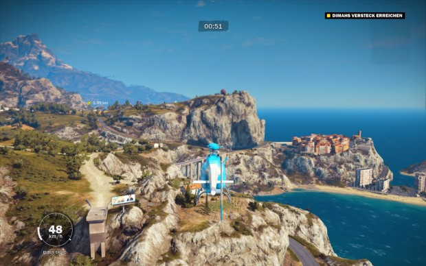 Just Cause 3 (Screenshot: Golem.de)