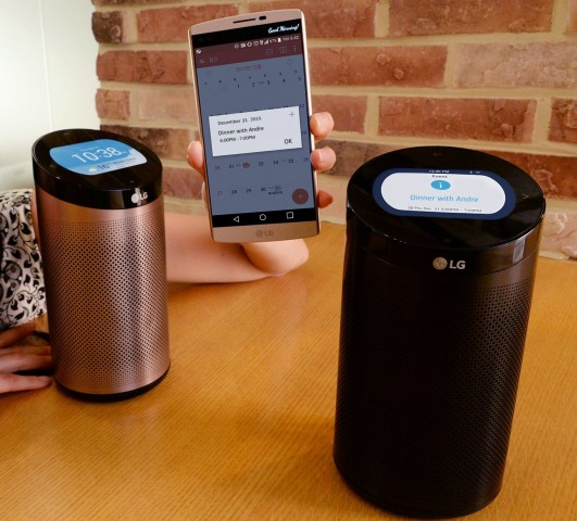 Der SmartThinQ Hub von LG (Bild: LG)