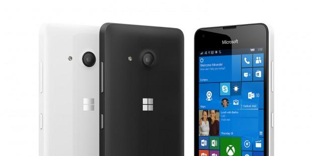 Lumia 550 (Bild: Microsoft)