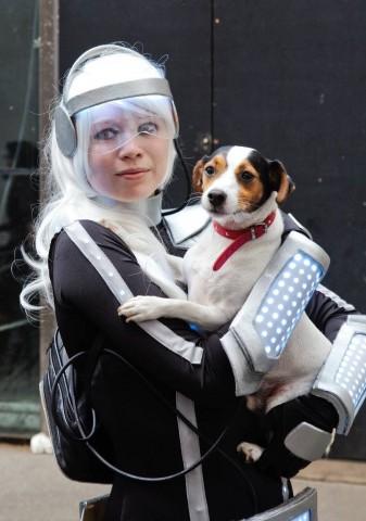 Cosplayerin in Kostüm (Foto: René Bohne), Cosplay