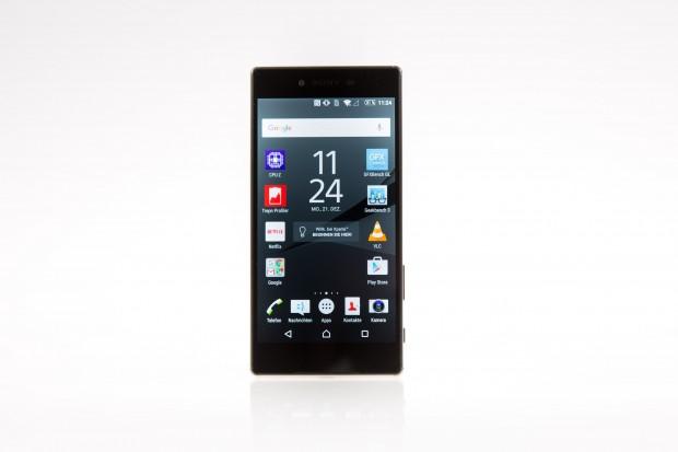 Das Xperia Z5 Premium von Sony (Bild: Martin Wolf/Golem.de)
