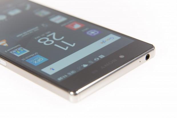 """Das Display hat eine Auflösung von 3.840 x 2.160 Pixeln - Sony nennt das Gerät dementsprechend """"4K-Smartphone"""". (Bild: Martin Wolf/Golem.de)"""
