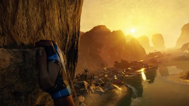 Beim Klettern sieht der Spieler das Geschene aus der Ich-Perspektive. (Bild: Crytek)