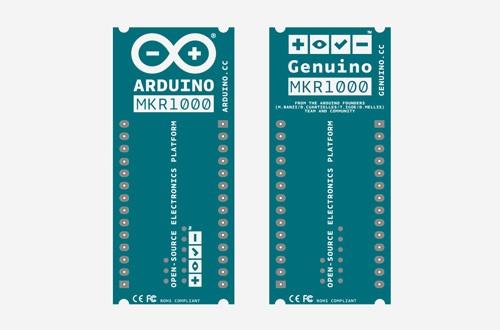 Das Einzige, was beim MKR1000 bislang anscheinend feststeht, ist die Anzahl der Pins. (Bild: Arduino.cc)