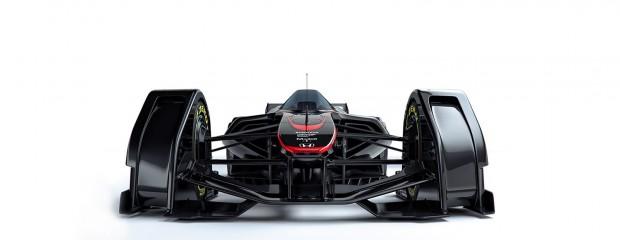 Der McLaren MP4-X ist ein Konzept für den Formel-1-Renner der Zukunft. (Bild: McLaren)