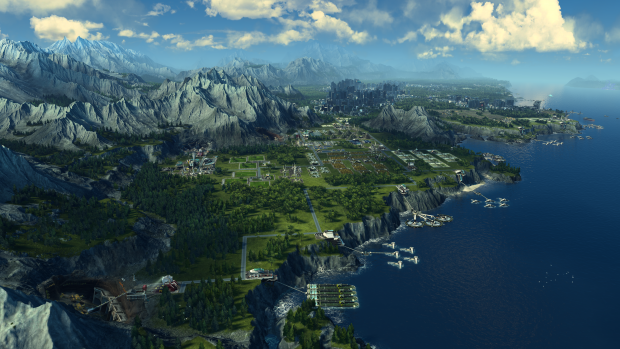 Anno 2205 Wildwater Bay (Bild: Blue Byte)