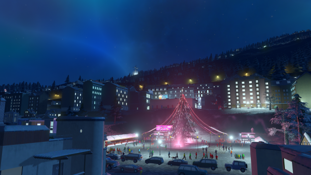 Cities Skylines: Snowfall (Bild: Koch Media)