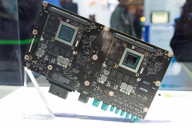 Das Drive PX 2 von Nvidia (Bild: Martin Wolf/Golem.de)