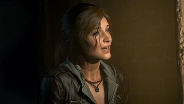 Laras Gesicht und Haare wurden deutlich verbessert (Screenshot: Marc Sauter/Golem.de)