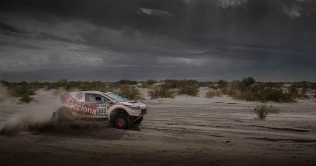 Acciona 100% Ecopowered bei der Rallye Dakar (Bild: Acciona)