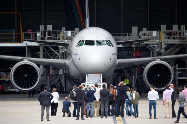 Der Airbus A320neo hat neuartige Triebwerke. (Foto: Airbus)