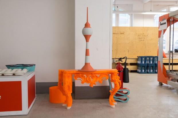Mit dem Tisch hat es angefangen: Das 3D-gedruckte Möbel stellte Big Rep 2014 in New York vor - und wurde schnell bekannt. (Foto: Werner Pluta/Golem.de)