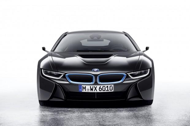 Der Hybridsportwagen BMW i8 Mirrorless (Bild: BMW)