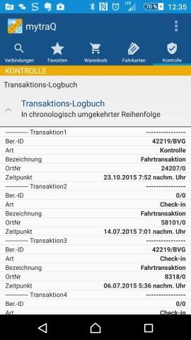 Screenshot der ausgelesenen Daten (Golem.de)