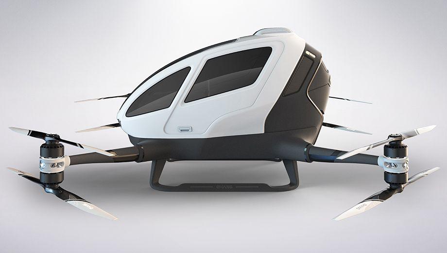 Ehang 184 AAV: Die Drohne wird zum Taxi - Die Transportdrohne Ehang 184 AAV (Bild: Ehang)