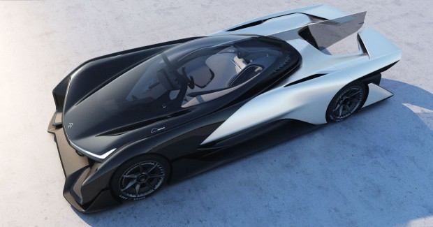 Der FF Zero 01 von Faraday Future (Foto: Faraday Future)