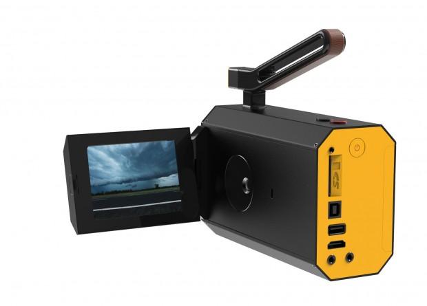 Sieht digital aus, ist aber analog: Kodaks neue Super-8-Filmkamera. (Foto: Kodak)
