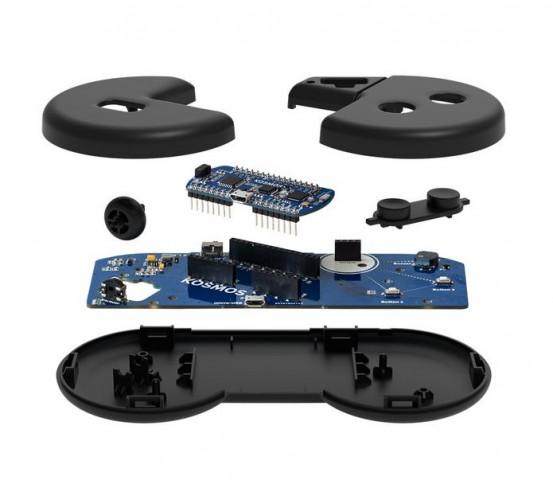 Der Mikrocontroller kann auf eine Gamepad-Plattform aufgesetzt werden. (Bild: Franckh-Kosmos Verlags-GmbH)