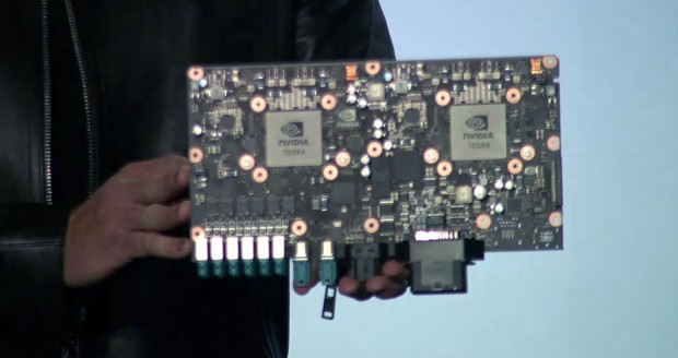 Nvidia Drive PX 2 (Bild:Nvidia/Screenshot: Golem.de)