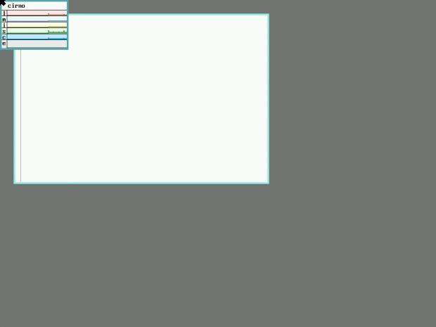 So präsentiert sich 9Front beim ersten Start. (Screenshot: Golem.de)