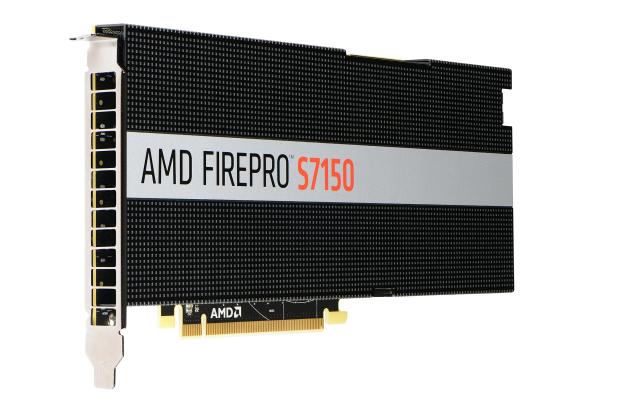 FirePro S7150 (Bild: AMD)