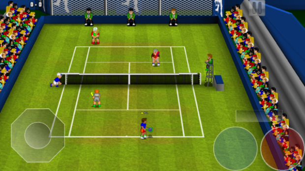 Tennis Champs Returns (Screenshot: Golem.de)