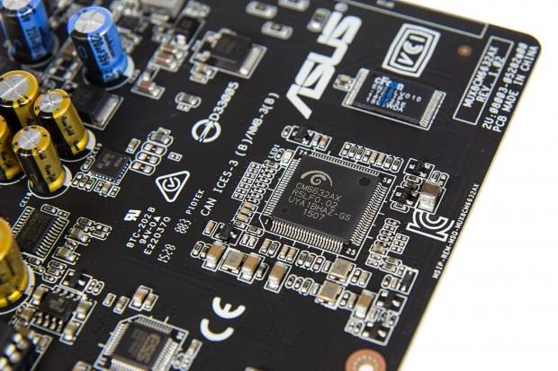 Der Soundchip stammt von Cmedia (Foto: Martin Wolf/Golem.de)