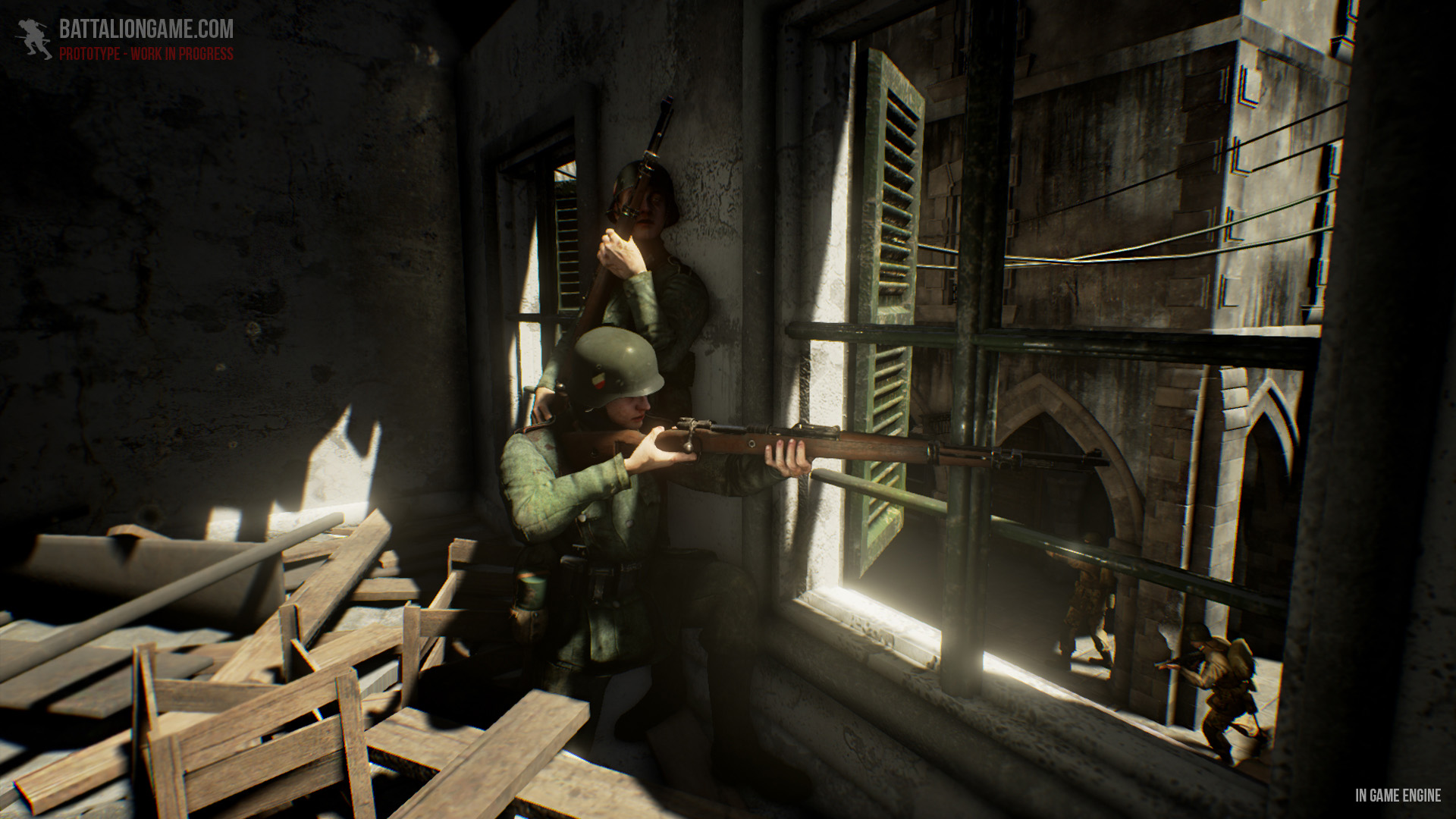 Battalion 1944: Sammeln für Skill-basierten Multiplayershooter - Battalion 1944 (Bild: Bulkhead Interactive)